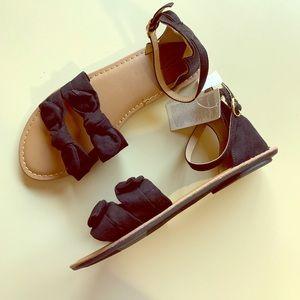 Gap Kids Black Sandals - NEW